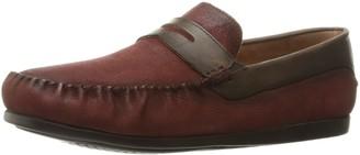 Florsheim Men's Surface Penny Loafer Red/Brown 8.5 D US