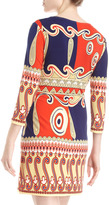Ali Ro Printed Jersey Shift Dress