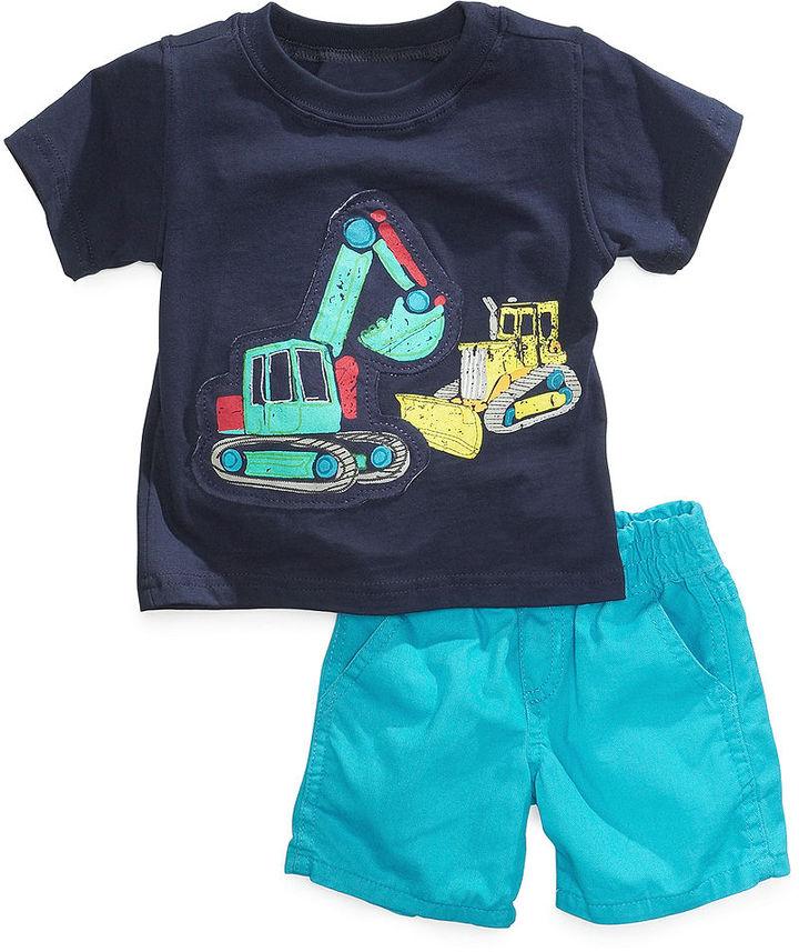 Nannette Baby Boys' 2-Piece Tee & Shorts Set