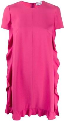 RED Valentino Ruffle-Trim Trapeze Dress