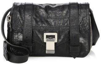 Proenza Schouler Mini PS1+ Zip-Around Leather Crossbody Bag