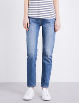 Claudie Pierlot Perle tapered high-rise jeans