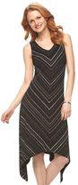 Apt. 9 Women's Shark-Bite Maxi Dress