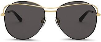 Dolce & Gabbana Eyewear slim UV-protective sunglasses