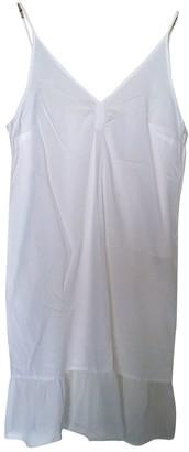 Et Vous White Cotton Dress for Women Vintage