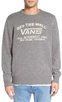 Vans Men's 'Reedley' Intarsia Crewneck Sweater