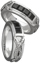 Exhibitionist Sterling Silver Channel Gemstone Ring