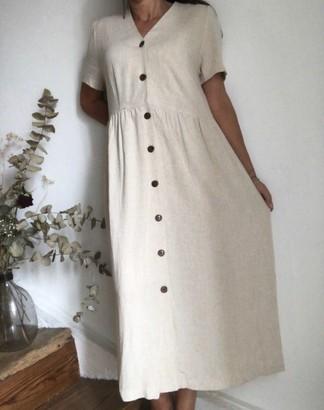 B.young Ecru Dress/799 - 40