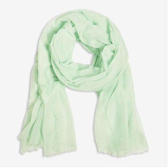 Joe Fresh Women's Soft Touch Scarf, Green (Size O/S)