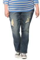 Motherhood Plus Size Secret Fit Belly Boot Cut Maternity Jean