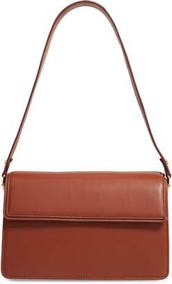 Nordstrom Concertina Accordion Leather Shoulder Bag