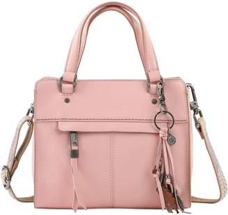 The Sak Alameda Leather Satchel Crossbody Handbag