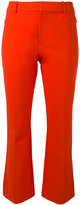 Derek Lam 10 Crosby flared cropped trousers - women - Cotton/Spandex/Elastane - 8
