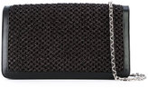 Casadei woven shoulder bag - women - Nappa Leather/Polyamide/Satin/Kid Leather - One Size
