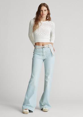 Ralph Lauren Fionna Wide-Leg Jean
