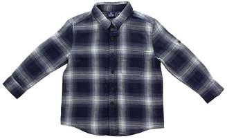 Bear Camp Long Sleeve Button Down Flannel (Little Boys)