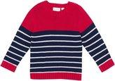 Jo-Jo JoJo Maman Bebe Breton Sweater (Toddler/Kid) - Red/Navy Stripe-2-3