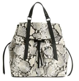 Urban Expressions Snake Print Backpack