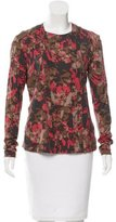 Etro Long Sleeve Abstract Print Top