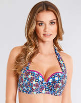 Midnight Grace by figleaves.com Tiki Underwired Padded Halter Bikini Top
