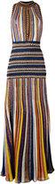 Missoni striped knitted dress - women - Silk/Nylon/Polyester/Viscose - 40