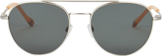 Le Specs Luxe Savage Gold Rim Sunglasses