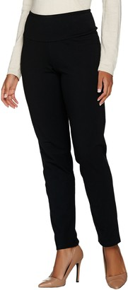 Women With Control Women with Control Petite Tummy Control Slim Leg Ankle Pants