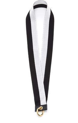 Chaos Exclusive Striped Ribbon Lanyard