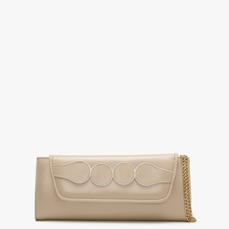 Daniel Perish Nude Leather Clutch Bag