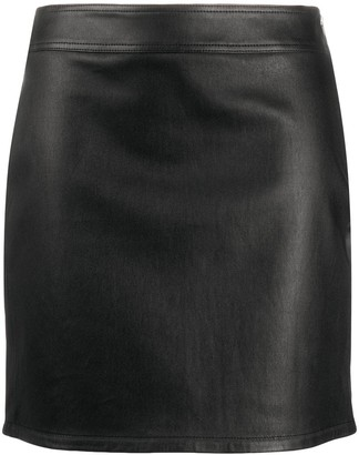 Helmut Lang Biker Mini Skirt