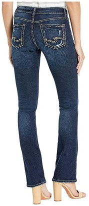 Silver Jeans Co. Elyse Mid-Rise Curvy Fit Slim Bootcut Jeans in Indigo L03601SDK470