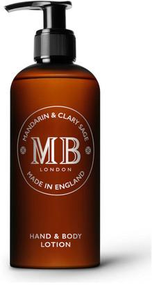 Molton Brown 1973 Mandarin & Clary Sage Hand & Body Lotion