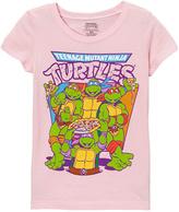 Freeze Light Pink 'Teenage Mutant Ninja Turtles' Tee - Girls