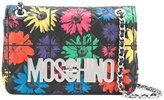 Moschino floral quilted crossbody bag