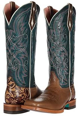 Ariat Caledo (Shiitake/Everglade) Cowboy Boots