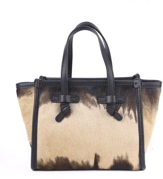 Gianni Chiarini Small Marcella Bag In Ponyskin