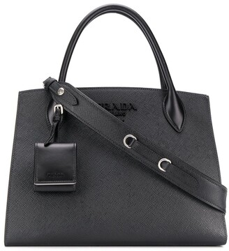 Prada medium Monochrome tote