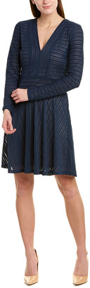BCBGMAXAZRIA Knit A-Line Dress