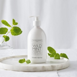 The White Company Wild Mint Hand Lotion, No Colour, One Size
