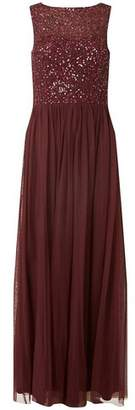 Dorothy Perkins Womens **Showcase Mulberry 'Harper' Maxi Dress