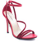 Pierre Dumas Red Myrna Sandal