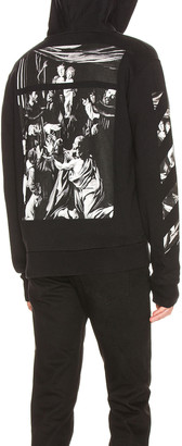 Off-White Caravaggio Zip Hoodie in Black | FWRD