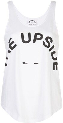 The Upside Logo Print Tank Top