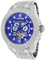 Seapro SP3314 Men's Tidal PX1 Silver Stainless Steel Watch