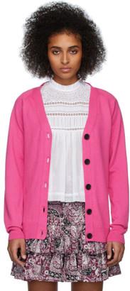 Etoile Isabel Marant Pink Karrick Cardigan