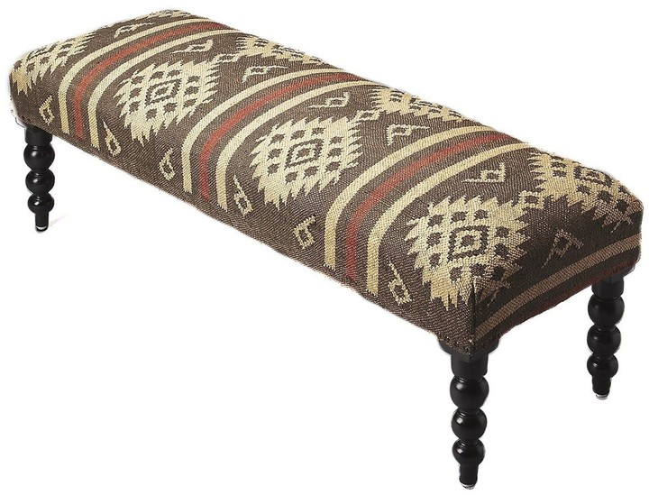 Thumbnail for your product : Butler Handmade Jute Upholstered Bench