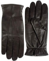 Black Brown 1826 Cashmere-Lined Leather Gloves