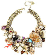 Betsey Johnson Lucky Charms Statement Bib Necklace