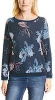 Cecil Women's KEY_Brushed Jacquard Flower Pyjama Bottoms