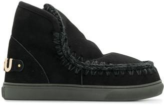 Mou Eskimo logo ankle boots